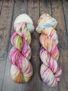 Easter Candy - Sock/Fingering - DK Weight - Worsted - Hand Dyed Yarn