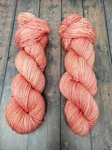 Peachcicle - Sock/Fingering - DK Weight - Hand Dyed Yarn