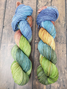 Meadow - Sock/Fingering - Hand Dyed Yarn
