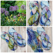 Load image into Gallery viewer, Summer Garden - Sock/Fingering Weight - Hand Dyed Yarn