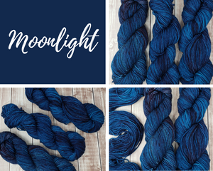 Moonlight - DK Weight - Hand Dyed Yarn