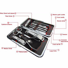 Load image into Gallery viewer, 12-Pieces Nail care Personal Manicure & Pedicure Set-5th Avenue Mall