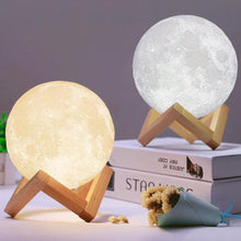 Load image into Gallery viewer, Original 3D Moon Lamp-5th Avenue Mall
