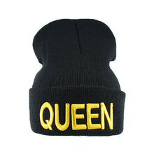 Load image into Gallery viewer, KING & QUEEN Embroidered Caps by UNLEASH