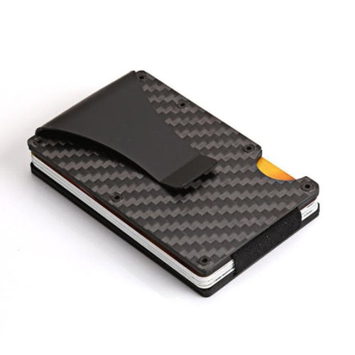 Minimalist Carbon Fiber Slim Wallet & RFID Blocking-5th Avenue Mall
