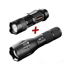 Load image into Gallery viewer, Pocketman Tactical Flashlight + Q5 Mini Torch-5th Avenue Mall