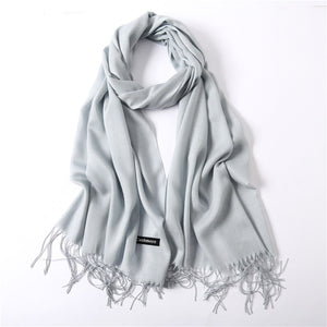 Solid Color Summer Scarf-5th Avenue Mall