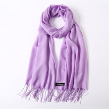 Load image into Gallery viewer, Solid Color Summer Scarf-5th Avenue Mall