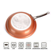 Load image into Gallery viewer, Non Stick Copper Frying Pan with Ceramic Coating (Oven Suitable)-5th Avenue Mall