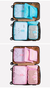 6 Luggage Organizer Packing Cubes-5th Avenue Mall
