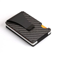 Load image into Gallery viewer, Minimalist Carbon Fiber Slim Wallet & RFID Blocking-5th Avenue Mall
