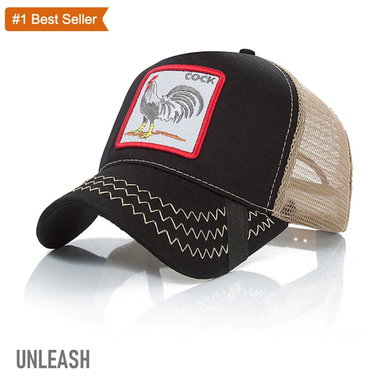 c4afa051 Load image into Gallery viewer, UNLEASH Animal Trucker Hat ...