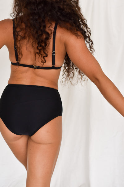 The High-Waisted Bottoms / BLACK