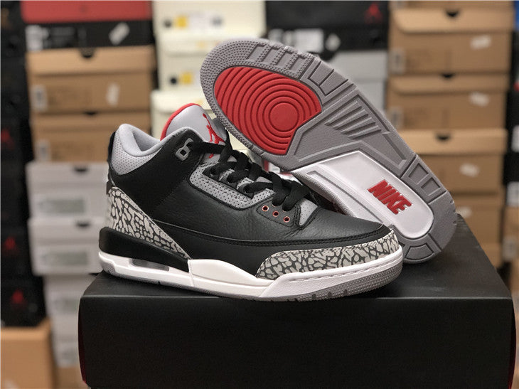 super cute 61ccd a5717 Air Jordan 3 Black/Cement