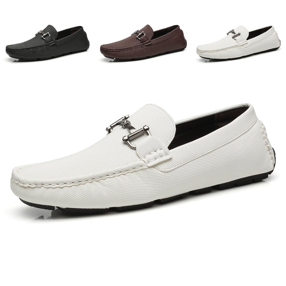 Men's Driving Moccasins Rover-1-whitemoccasinsF41821white-7
