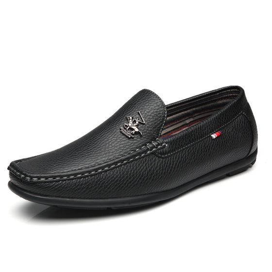 Men's Driving Moccasins Slip On Loafers Edwin-1-black