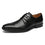 Men's Slip On Loafers Dress Shoes Will-1-blackNew ArrivalA11649black-7.5