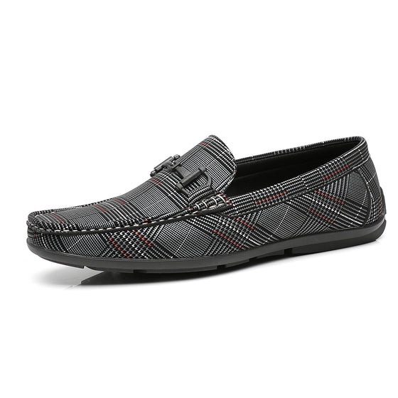 Men's Driving Moccasins Rover-2-greymoccasinsF41820grey-7