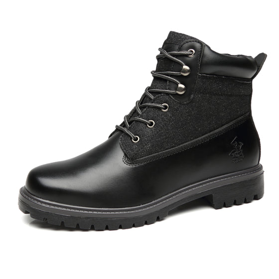 Men's Snow Winter Lace Up Boots Casual Comfortable Dress Boots for Men