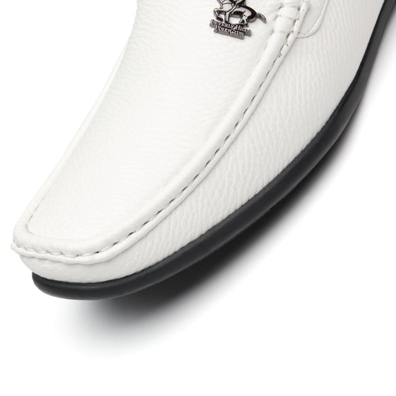 Men's Driving Moccasins Slip On Loafers Edwin-1-whiteBP91476white-7.5