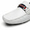 Men's Driving Moccasins Travis-1-whitemoccasinsF41822white-7