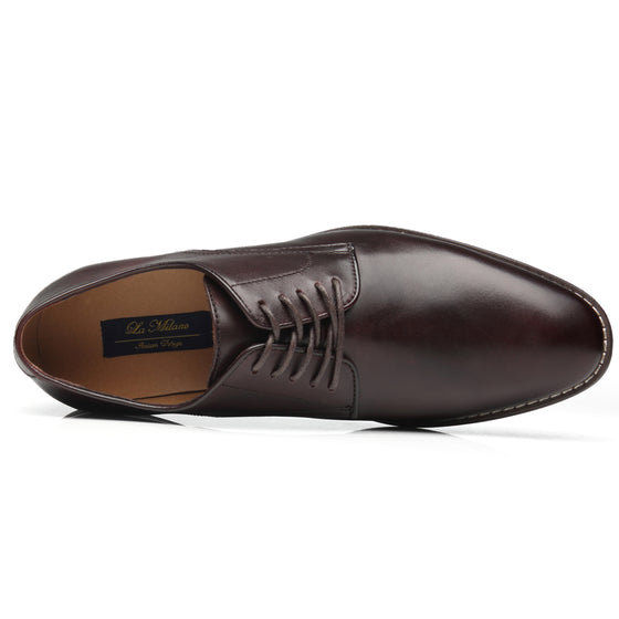 Men's Lace Up Cabey-1-darkbrownNew ArrivalA11647darkbrown-7.5