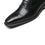 Men's Cap Toe Lace up Oxford Dress Shoes Posh-1-blackA1666black-7