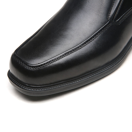 Men's Wide Width Oxford Shoes Wide-3-BlackA1720Wblack-7