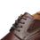 Men's Wide Width Oxford Shoes Wide-1-Brown