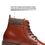 Men's Lace Up Boot Deeno-2-whisky