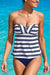Detachable Straps Tankini Set