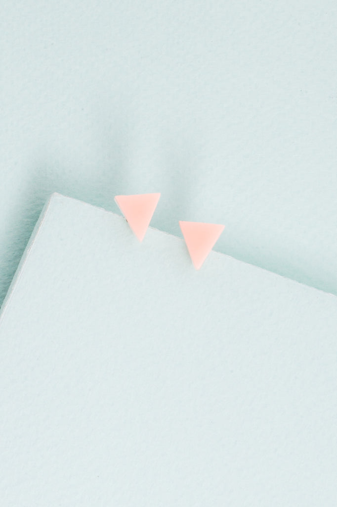 Lovoda Triangle Stud Earrings
