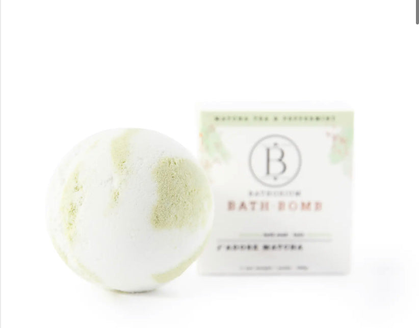 Bathorium Matcha Bath Bomb
