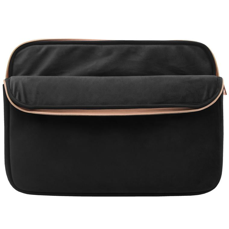 Mytagalongs Velour Neoprene Laptop Sleeve BLACK