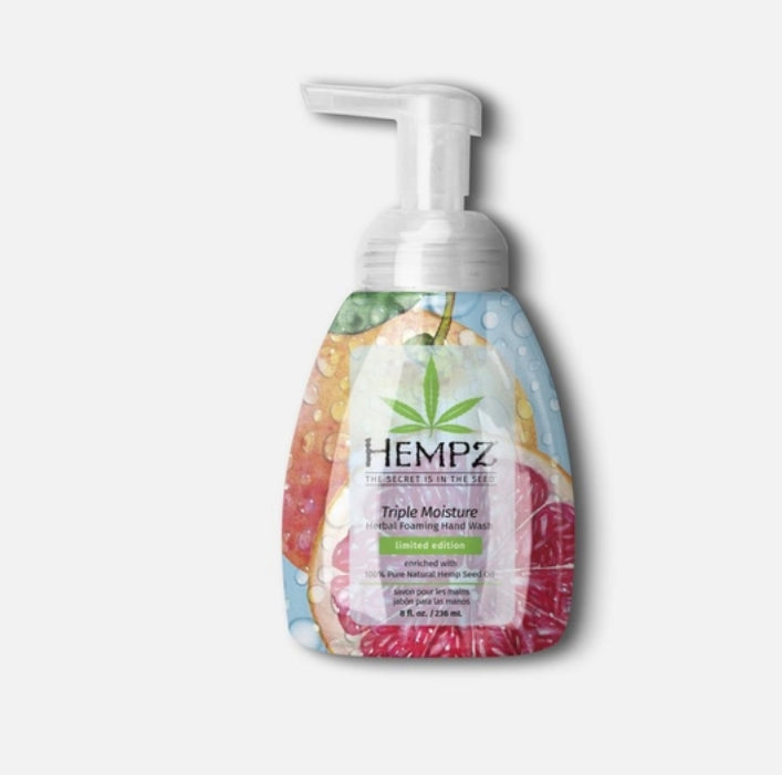 Hempz Triple Moisture Herbal Foaming Hand Wash