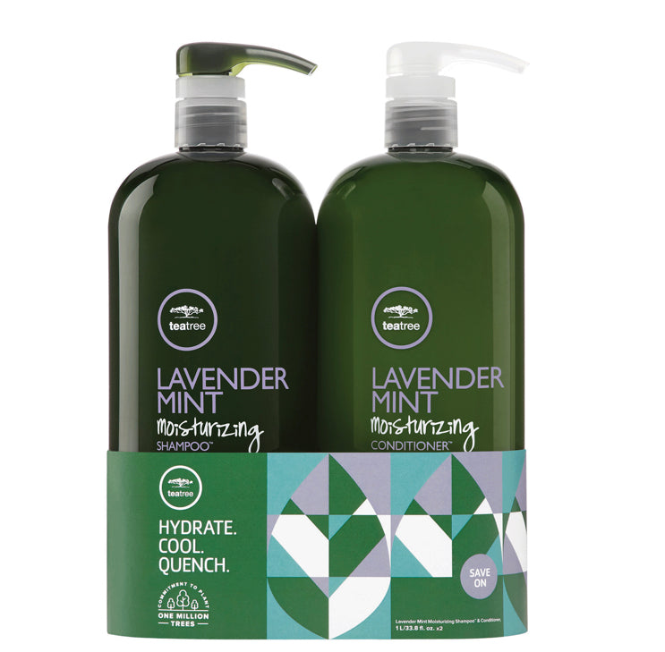 Paul Mitchell TeaTree Lavender Mint Litre Duo