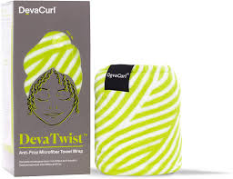 Deva Twist Anti Frizz Microfiber Towel Wrap