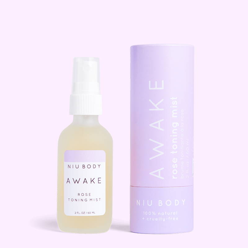 Niu Body Awake Rose Toning Mist