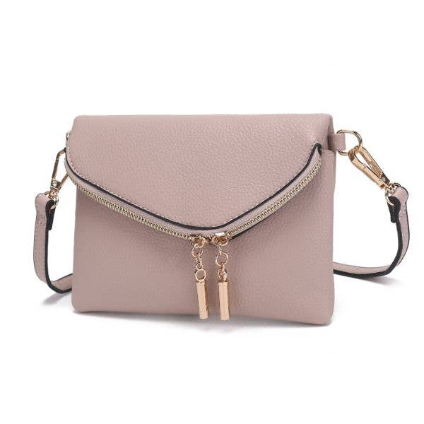 MKF Celebrity Style Crossbody Light stone