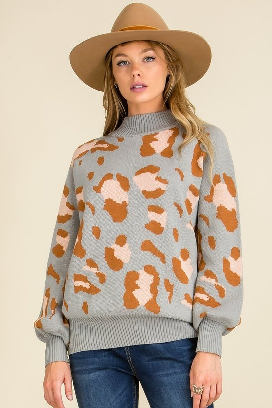 Multi Color long sleeve sweater