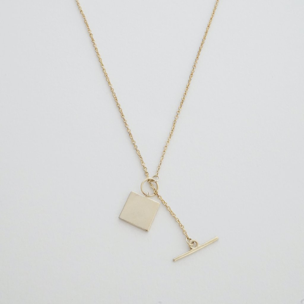 Honeycat Gwynth Toggle Necklace - gold