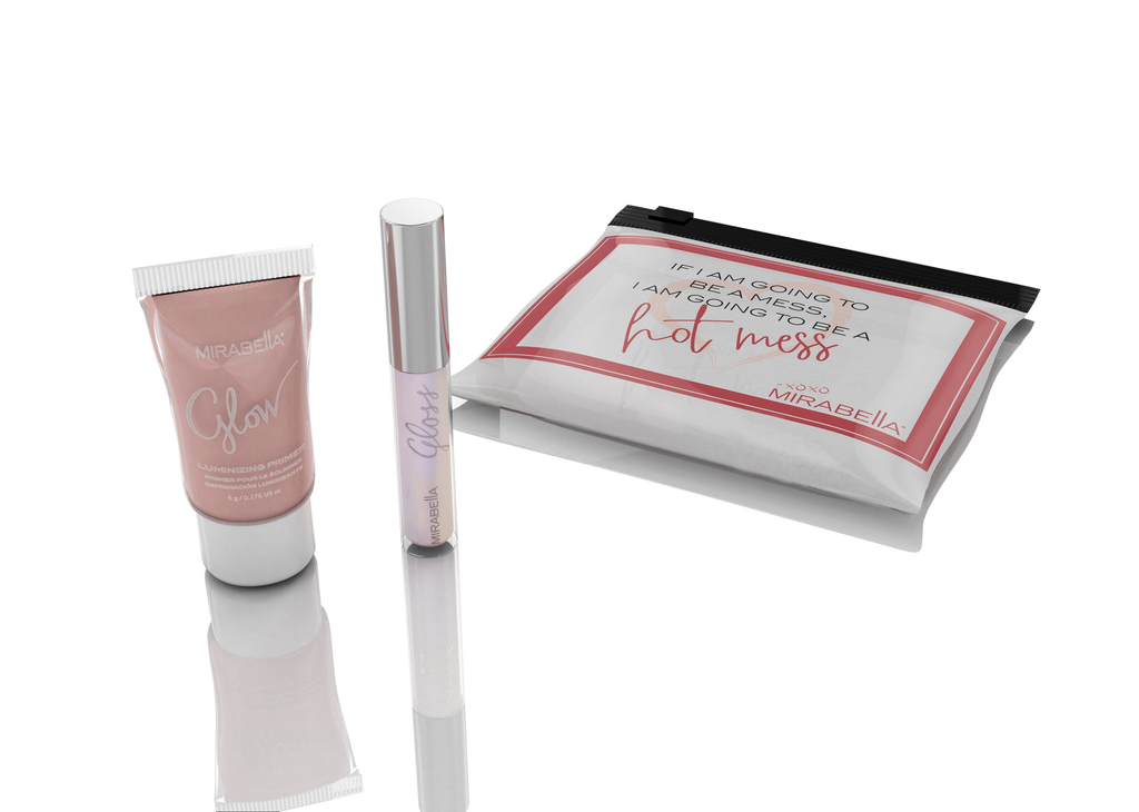 "Mirabella ""you go girl"" lip giftset"