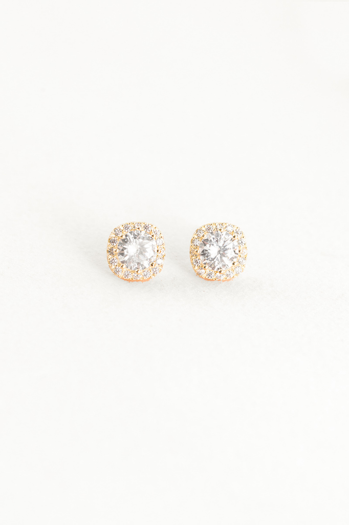 Lovoda halo ray stud earrings