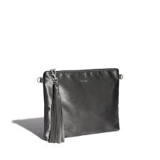 Pixiemood Michelle Clutch satin grey
