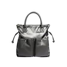 Pixiemood Avery tote satin grey