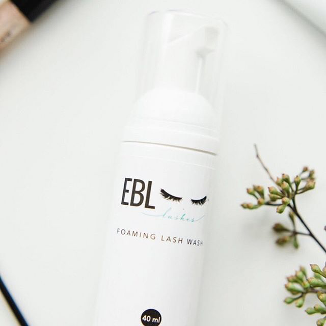 EBL foaming lash wash