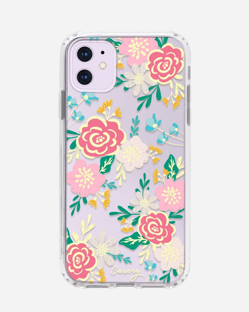 Casery rose orchid phone case