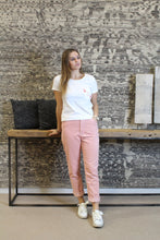 Load image into Gallery viewer, Broek velour Roze