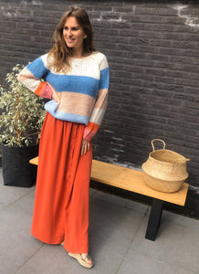 Long Skirt - Orange