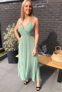 Classic dress - mint green